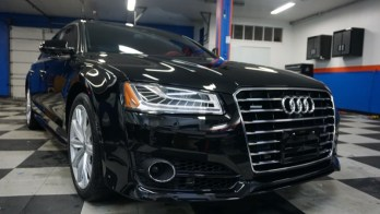 Radar Detector, Tint and PPF Protection for New Windsor Audi A8 L