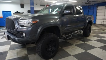 Sykesville Tacoma Owner Upgrades Stereo System