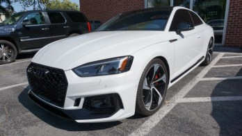 3M Ceramic IR Tint and Scotchgard Pro Protection for 2019 Audi RS5