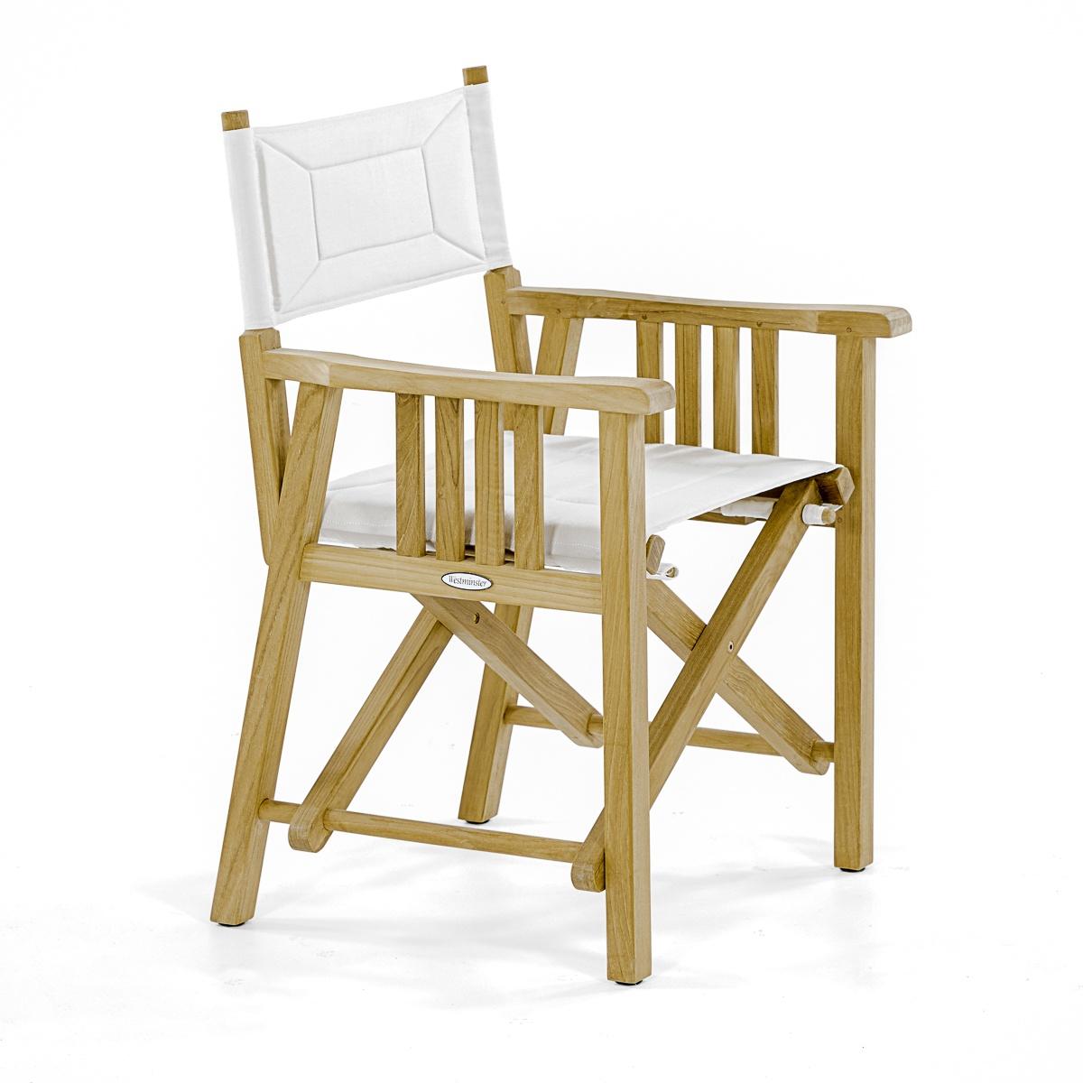 teak folding chair fishing box barbuda director westminster