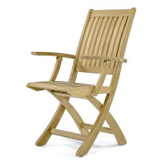 Teak Folding Chair Kitchen Table Barbuda Patio Dining Westminster