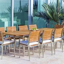 teak patio furniture set - westminster