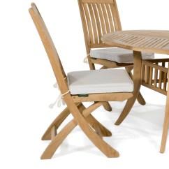Sunbrella Chair Cushion Folding Kickstarter Dining Westminster Teak Outdoor