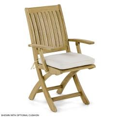 Teak Folding Chair Small Beach Chairs Uk Barbuda Patio Dining Westminster