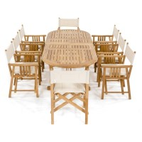 Montserrat Director Chair Set - Westminster Teak Outdoor ...