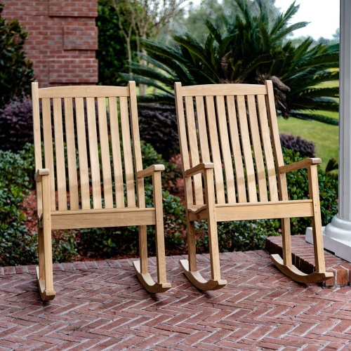 Outdoor Rocking Chair Wood