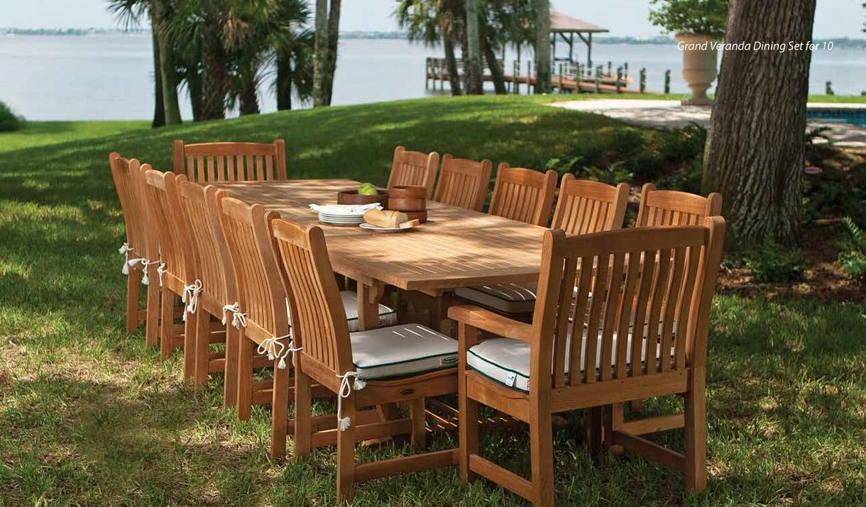 Teak Furniture  Outdoor Indoor Garden  Patio Furniture