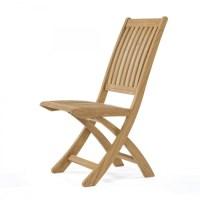 Barbuda Folding Teak Dining Chair - Westminster Teak ...