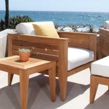 Craftsman Teak Deep Seating Outdoor Lounge Chair