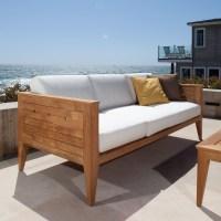 Craftsman Outdoor Deep Seating Teak Sofa   Westminster ...