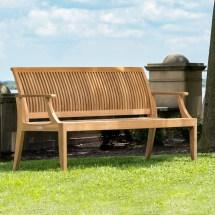 laguna teak outdoor bench 5 ft
