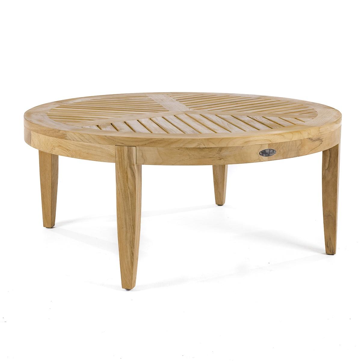 teak sofa table gray modern sleeper laguna round coffee and westminster