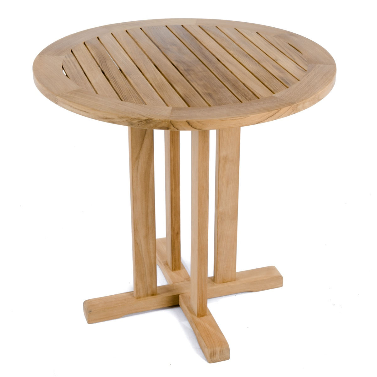 Westminster Teak 30 inch Round Bistro Table  Comm