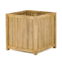 Westminster Teak Planter Bench Seat Panel