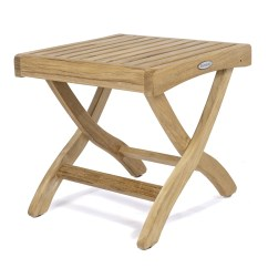 Teak Folding Chairs Canada Lyndsey Linens And Chair Covers Barbuda Ottoman Side Table Westminster