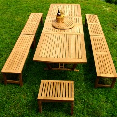 Teak Bar Table And Chairs Desk Chair For Sale Extension - Bench Picnic Set Westminster Outdoor Furniture