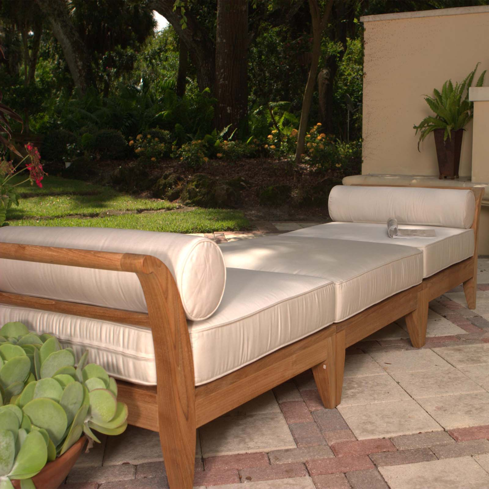 deep sofa daybed queen sleeper teak seating sectional westminster