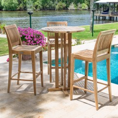 Teak Bar Table And Chairs Intex Inflatable Pull Out Chair Furniture Westminster Outdoor