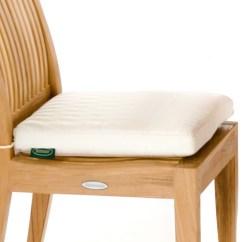Cushions For Teak Steamer Chairs Chair Cover Rentals Des Moines Sunbrella Side Cushion Westminster