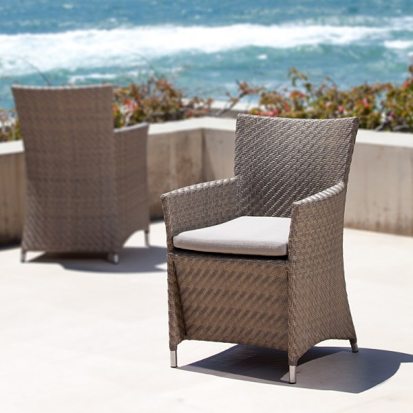 All Weather Wicker Dining Chairs