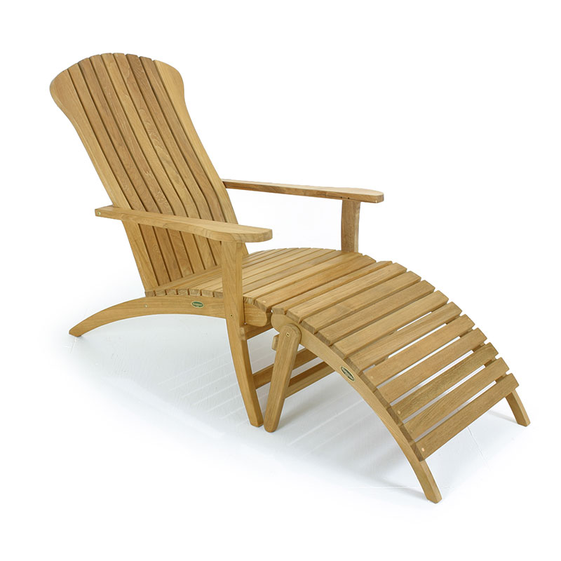 making adirondack chair cushions dining slipcovers with footrest   westminster teak