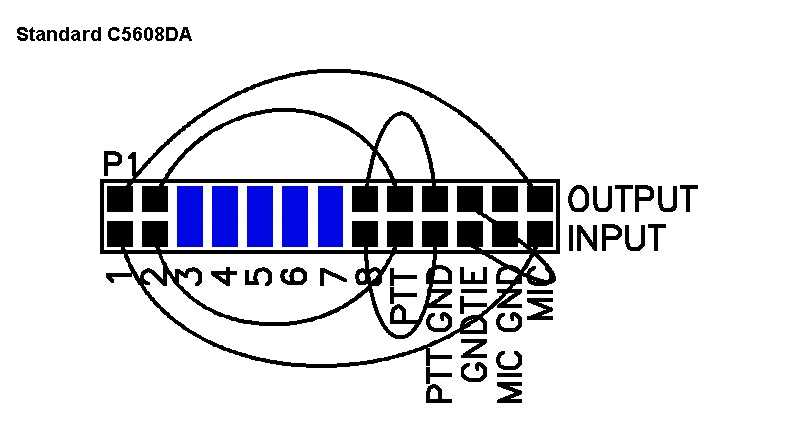Alinco Mic Wiring Diagram Astatic Mic Wiring ~ Elsavadorla