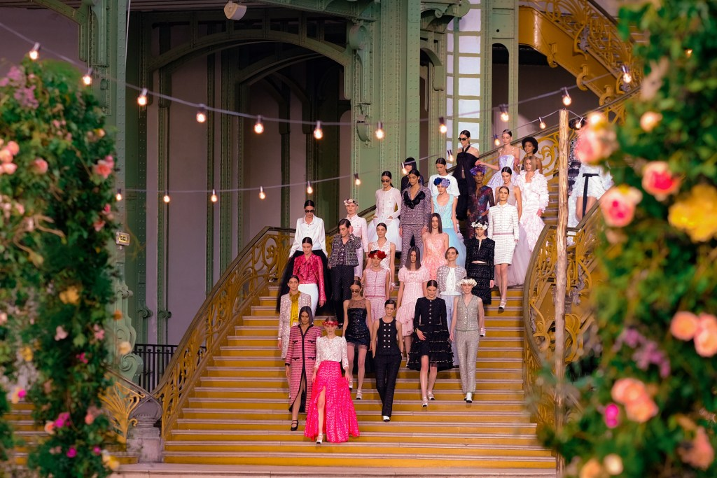 Chanel finale from the Haute Couture Spring-Summer 2021 collection