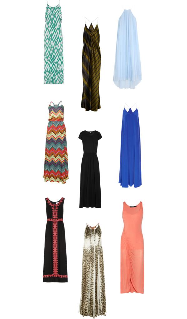 Trend Spotting: Maxi Dresses