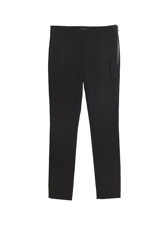 PT WC Tech Side Zip Pant in Black