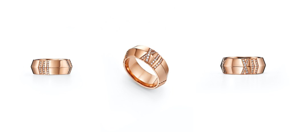Tiffany & Co. Atlas Collection ring