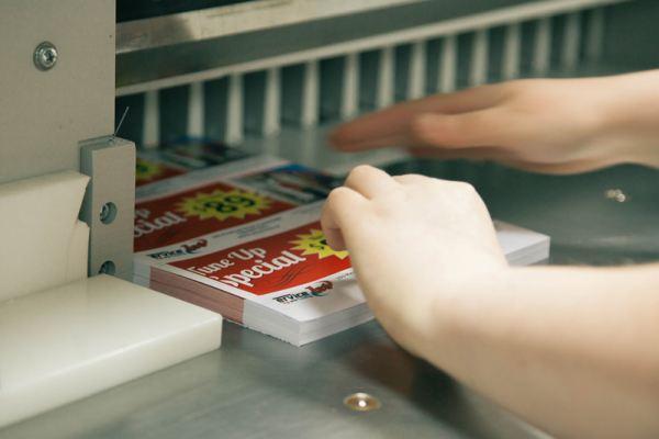 Flyers and Postcards Digital Printing