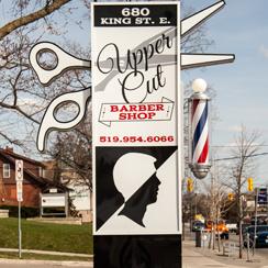 Upper Cut Barber shop Pylon