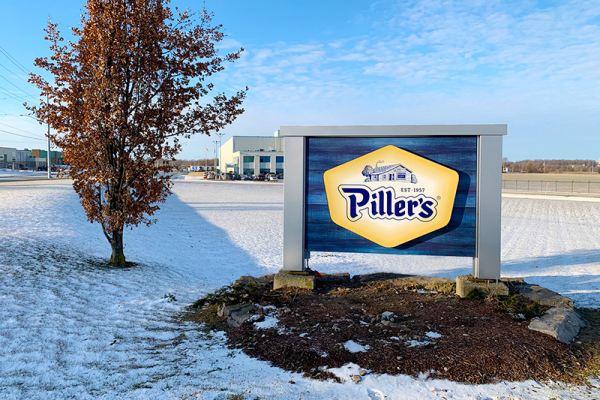 Piller's Ground Sign