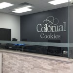 image of the Colonial Cookies interior sign