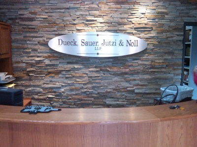 Front Desk Signage