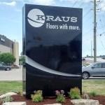 image of the Kraus Flooring ground sign