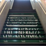 image of the Stair Graphics for Freshii