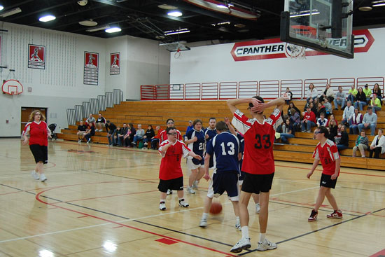 Special Olympics Wisconsin Regional Basketball Tournament