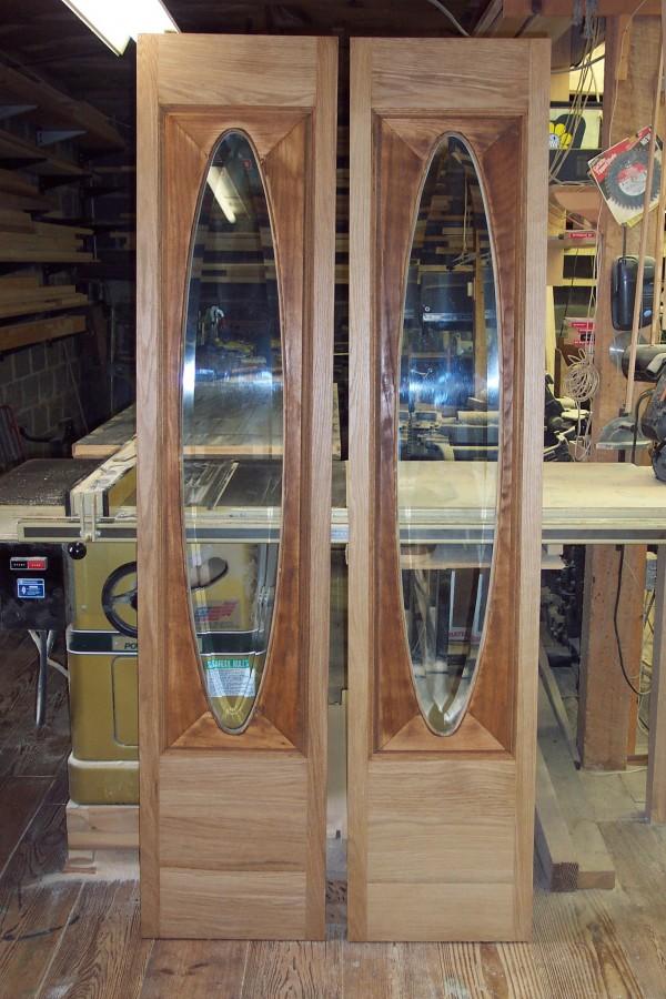 Restoration Of Salvaged Victorian Oak Door Incorporated