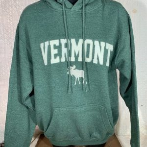 VT Moose Hooded Sweatshirt