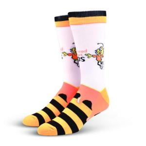 Honey Nut Cheerios Cool Socks