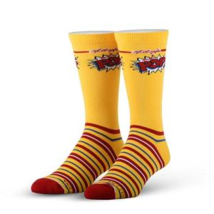 Corn Pops Cereal Cool Socks
