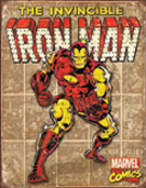 Iron Man – Retro Panels