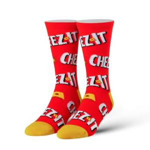 Keep it Cheesy (Cheez It) Cool Socks