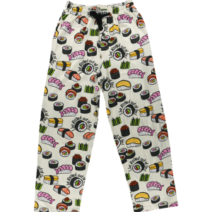 Rolled Out Of Bed – Sushi | Unisex PJ Pants
