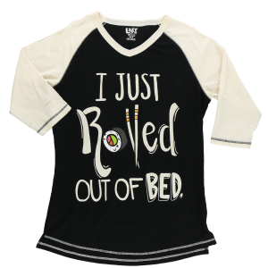 I Just Rolled Out of Bed – Sushi | Women's Tall Tee