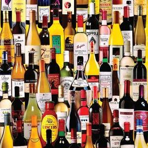 Wine Bottles 1000 pc