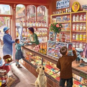Old Candy Store 1000 pc.