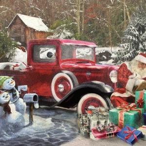 Santas Truck 1000 pc.