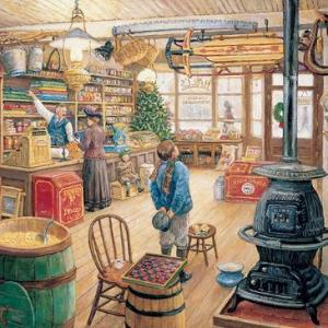 Old General Store 1000 pc.